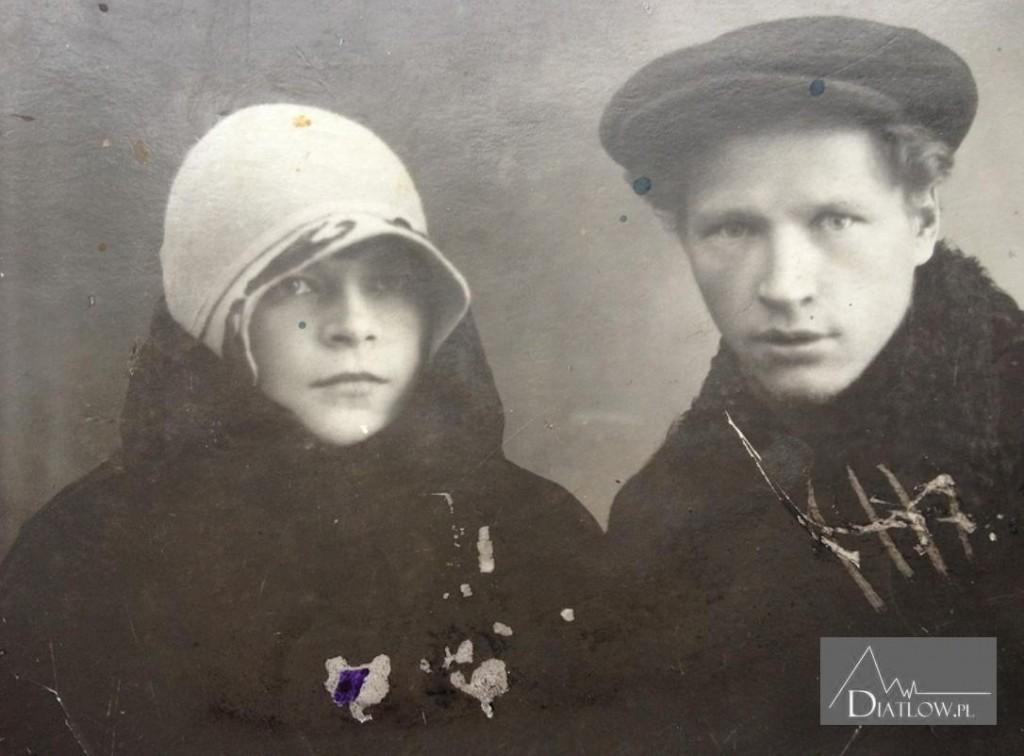 Igor Diatłow - rodzice