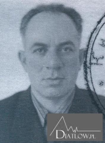 Lew Gordo kierownik Klubu Sportowego Politechniki Uralskiej