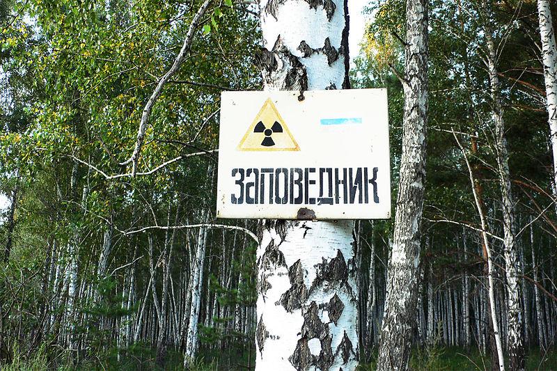 Radioaktywność, teren skażony