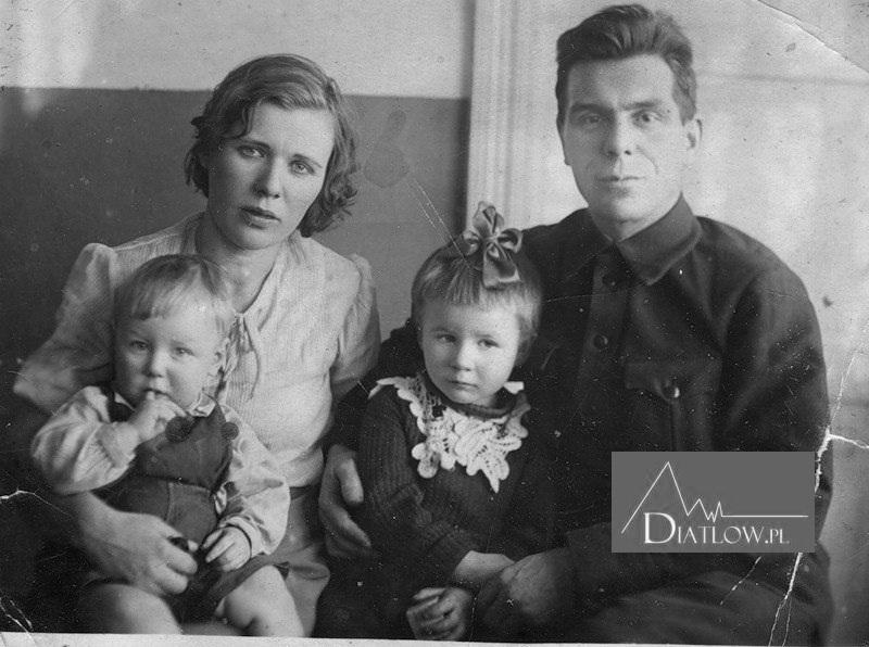 Rodzina Ludmiły Dubininy