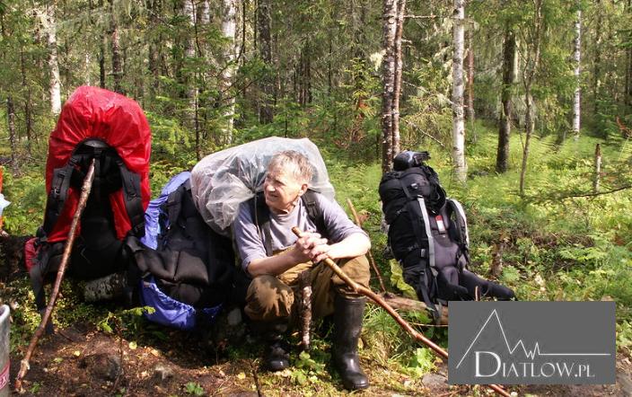 Jurij Judin wdrodze naPrzełęcz Diatłowa
