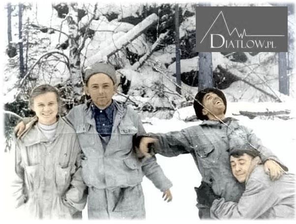Ofiary tragedii naPrzełęczy Diatłowa