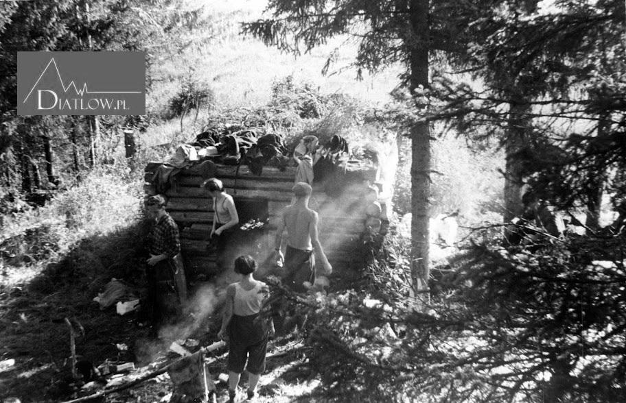 Zina Kołmogorowa nawyprawie w1958 roku