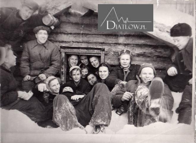 Igor Diatłow, Ludmiła Dubinina iZina Kołmogorowa